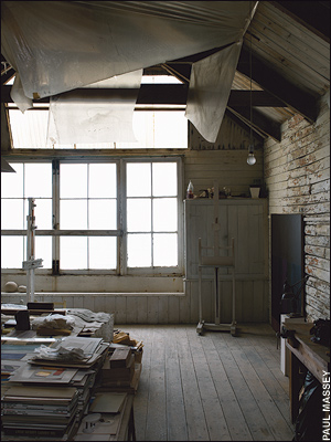 Porthmeor artists' studios: crumbling beauty
