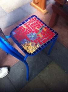 Sunshine Mosaic Chair
