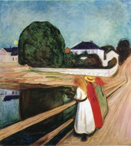 Edvard Munch Painted emotion in art. This is an image of the