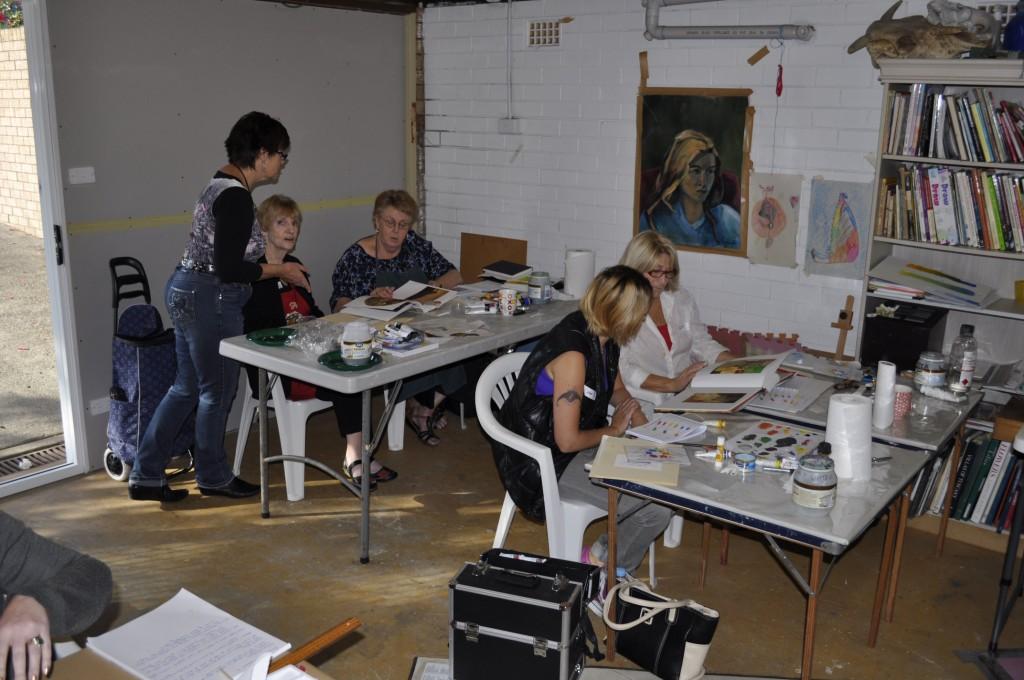 Artist's Life, Colour mixing workshop