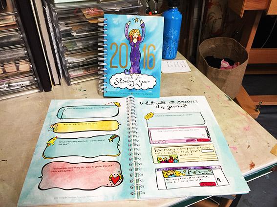 Leonie Dawson's Workbooks