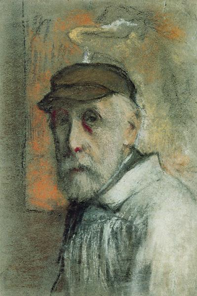 degas-self-portrait-pastel-1895