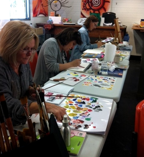 the business of art,Art Classes