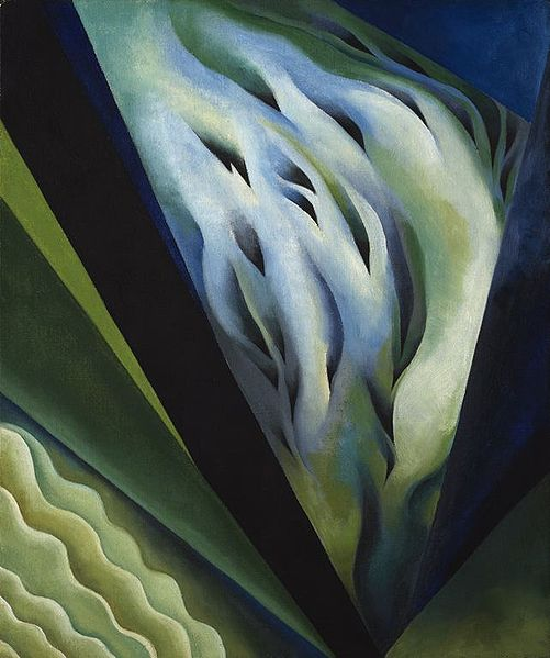 Georgia O'keefe, Blue and Green