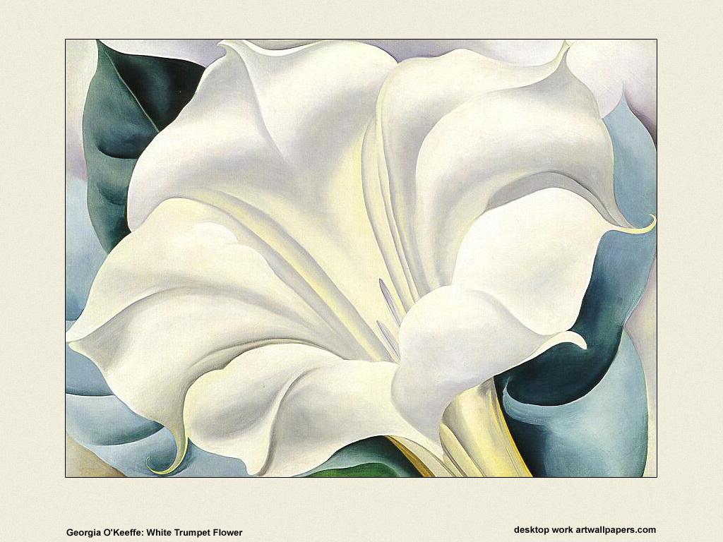 georgia-o-keeffe-white-trumpet-flower