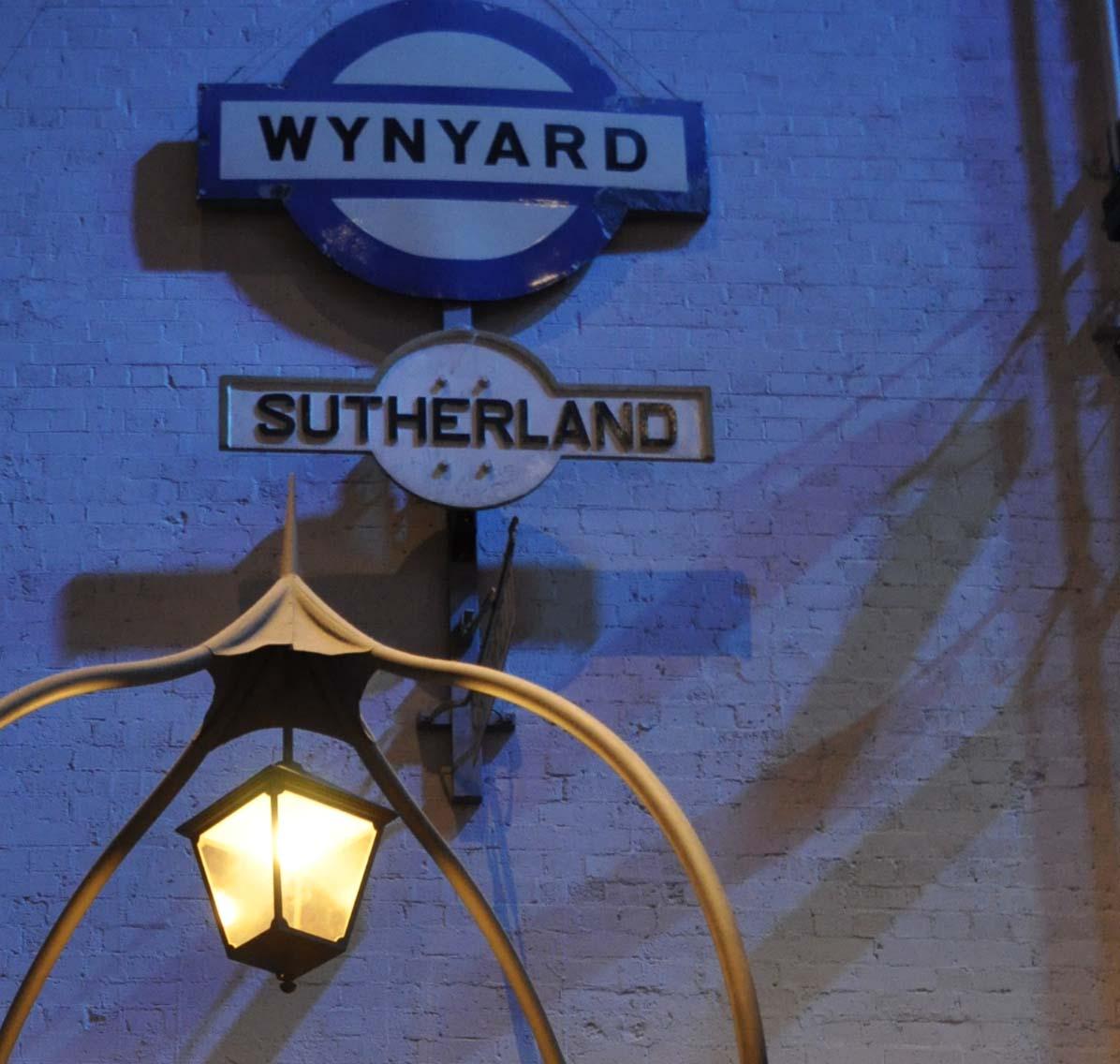 Wynyard sign