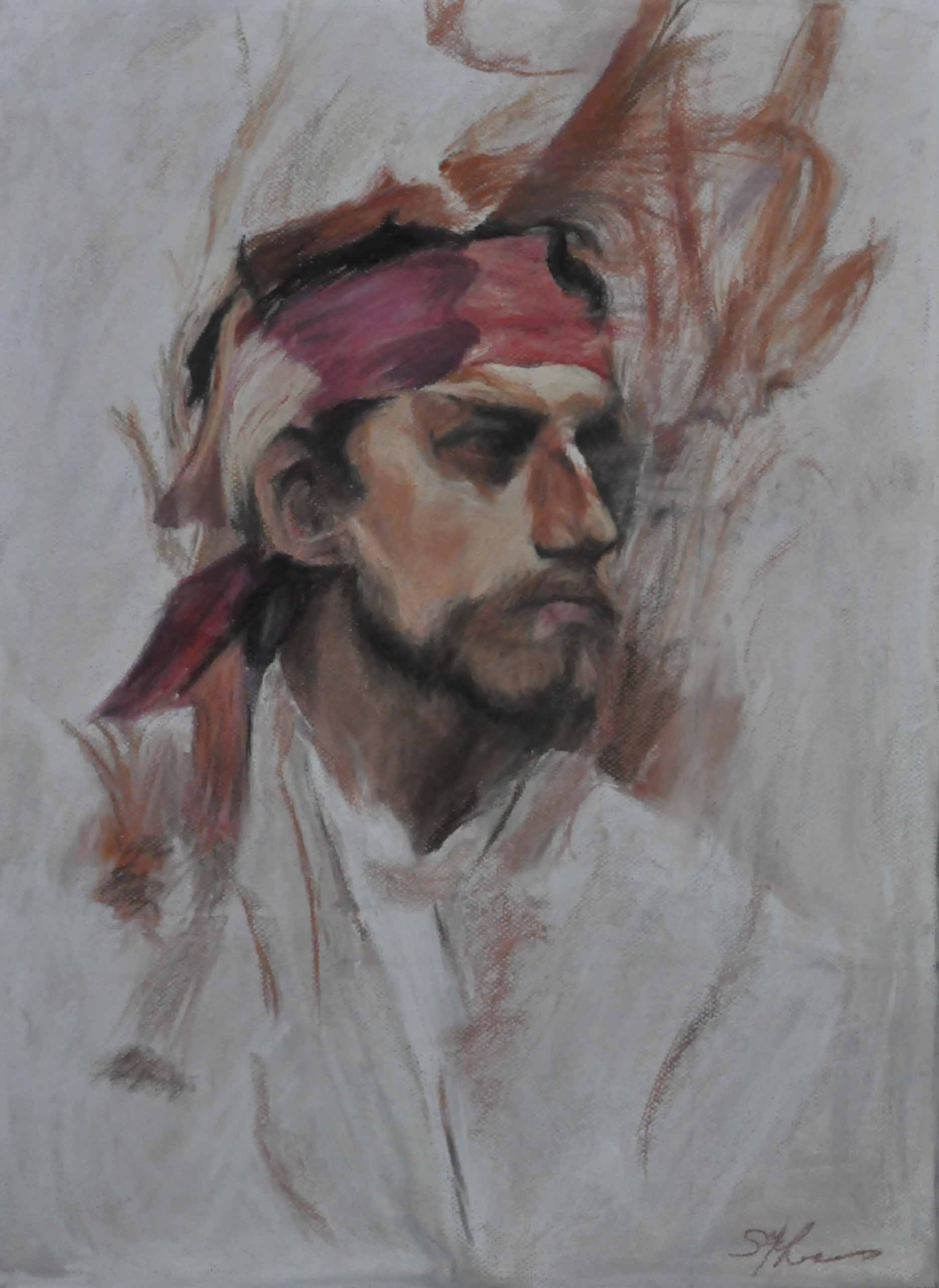 Portrait of a Young Man - Stephanie Lewis
