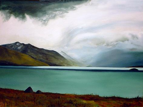 Lake Ohau Storm ©2010 Kadira Jennings