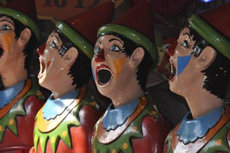 Fair Clowns, Side Show Clowns