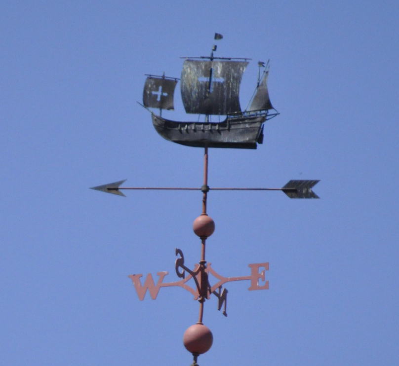 Sailing Ship,Brass Sailing Ship,Sailing ship Sculpture,Wind Vane