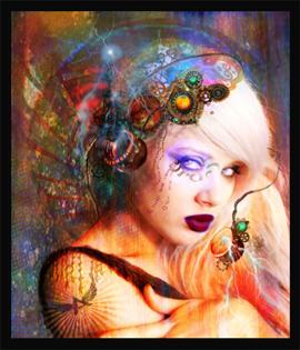 Steam Punk Lady,Steam Punk Image
