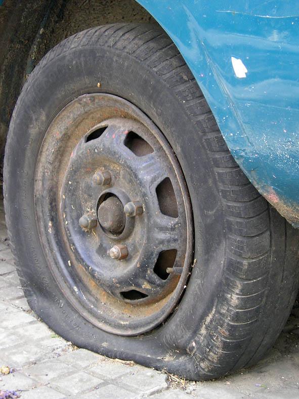 Flat Tyre