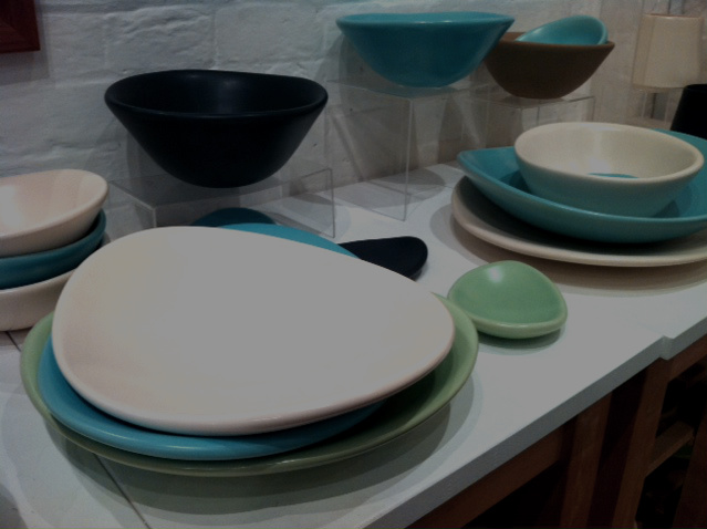 Hand crafted plates