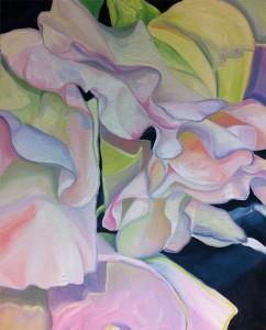 Painting Flowers - Sweet Pea