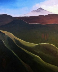Painting New Zealand Landscapes