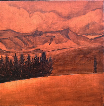 Underpainting - Southland