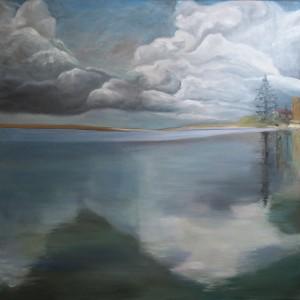 Painting the water - beginnings