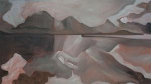 Hinchenbrook Passage - under painting