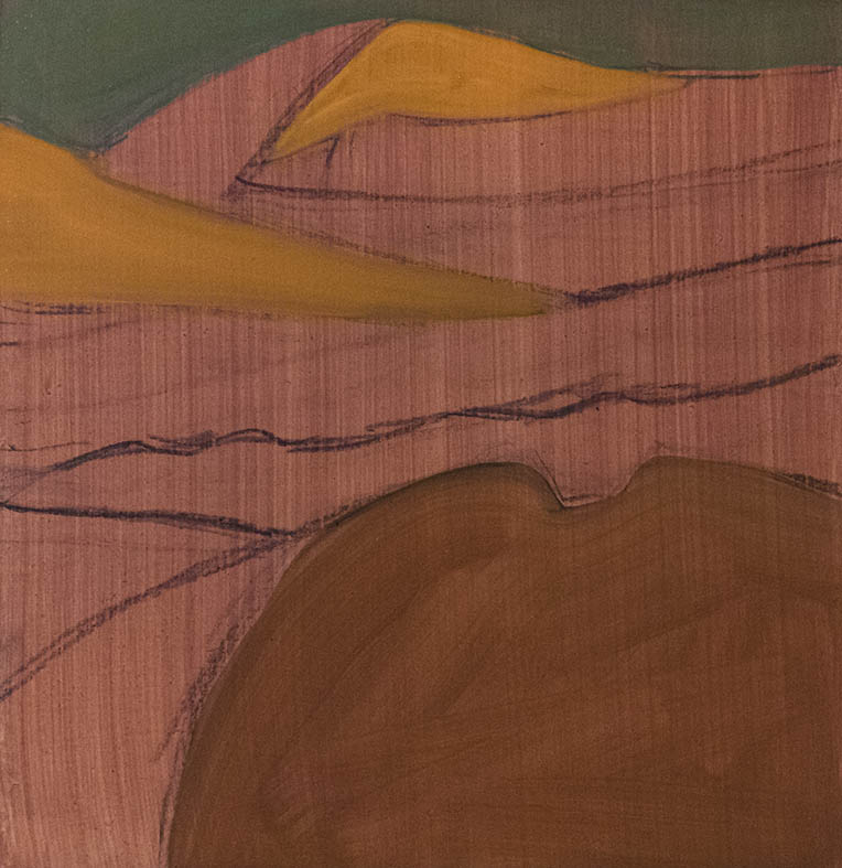 Southland Series - Study 2 -Underpainting