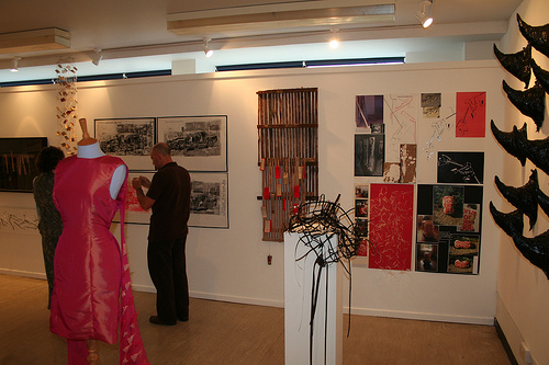 art marketing - exhibition photo