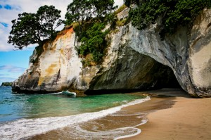 Making Art Cathedral Cove