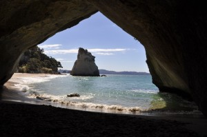heroines journey cathedral cove