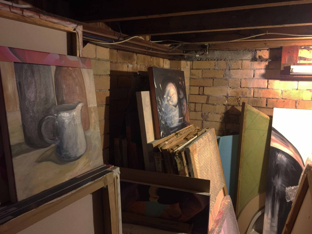 Stored Paintings