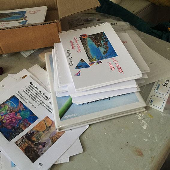 Studio News,Preparing Books