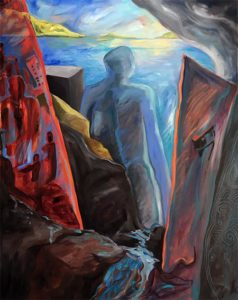 exciting new works,New Horizons - Middle panel